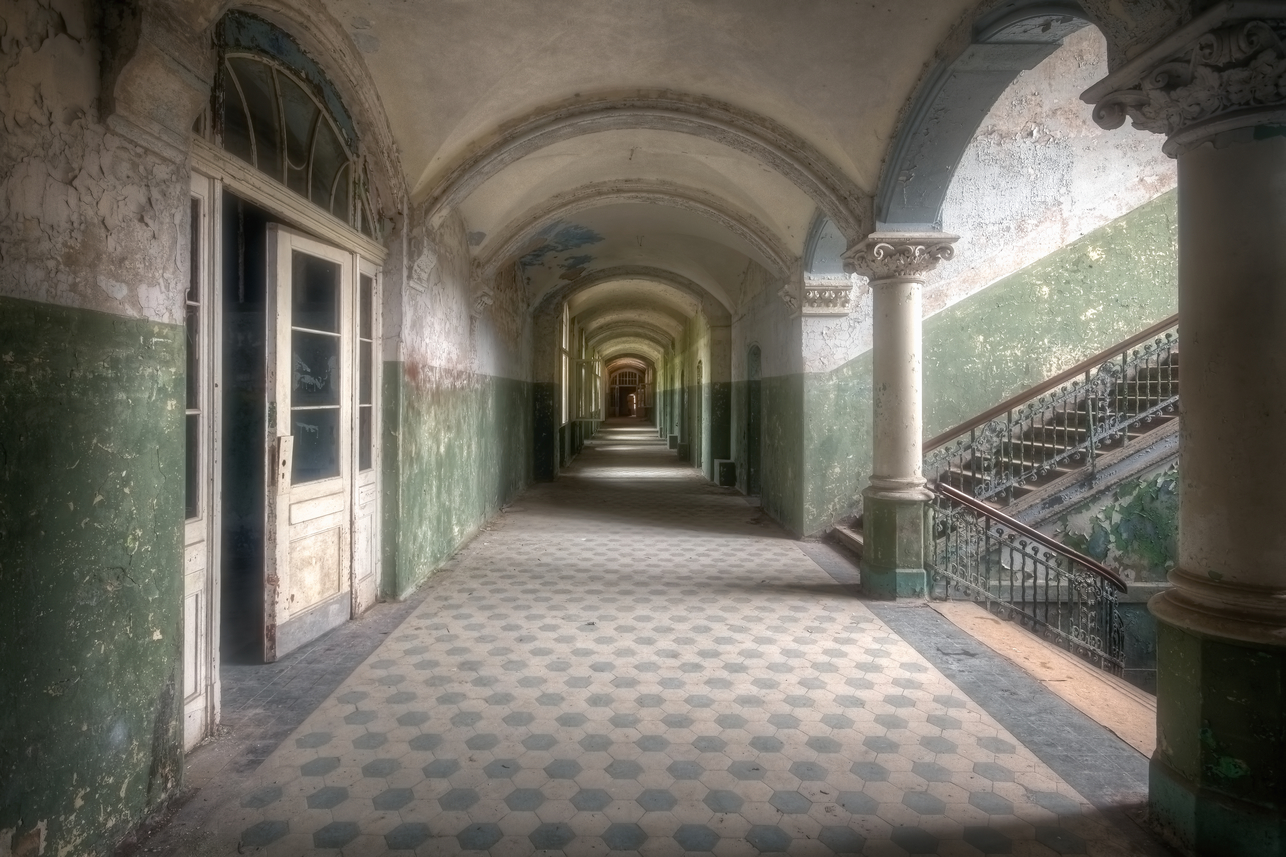 Hallway Full Of Decay Urban Photography By Roman Robroek