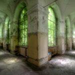 Hallway overtaken by nature