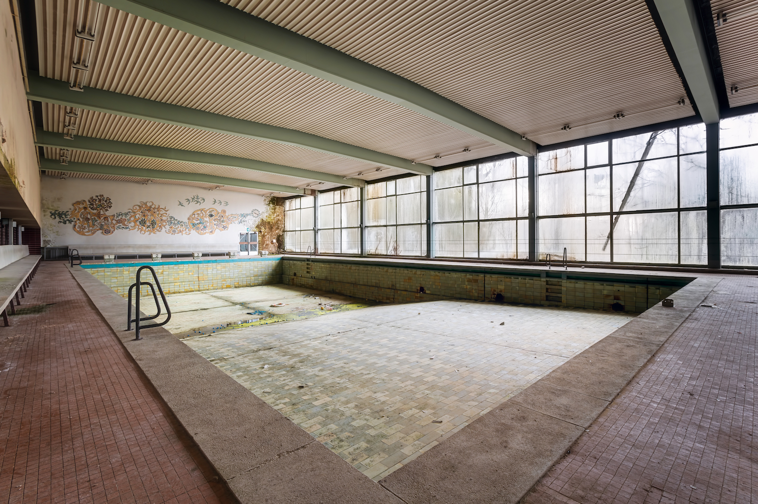 Swimming Pool Urban Photography By Roman Robroek