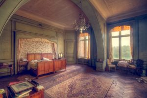 One of the impressive bedrooms.