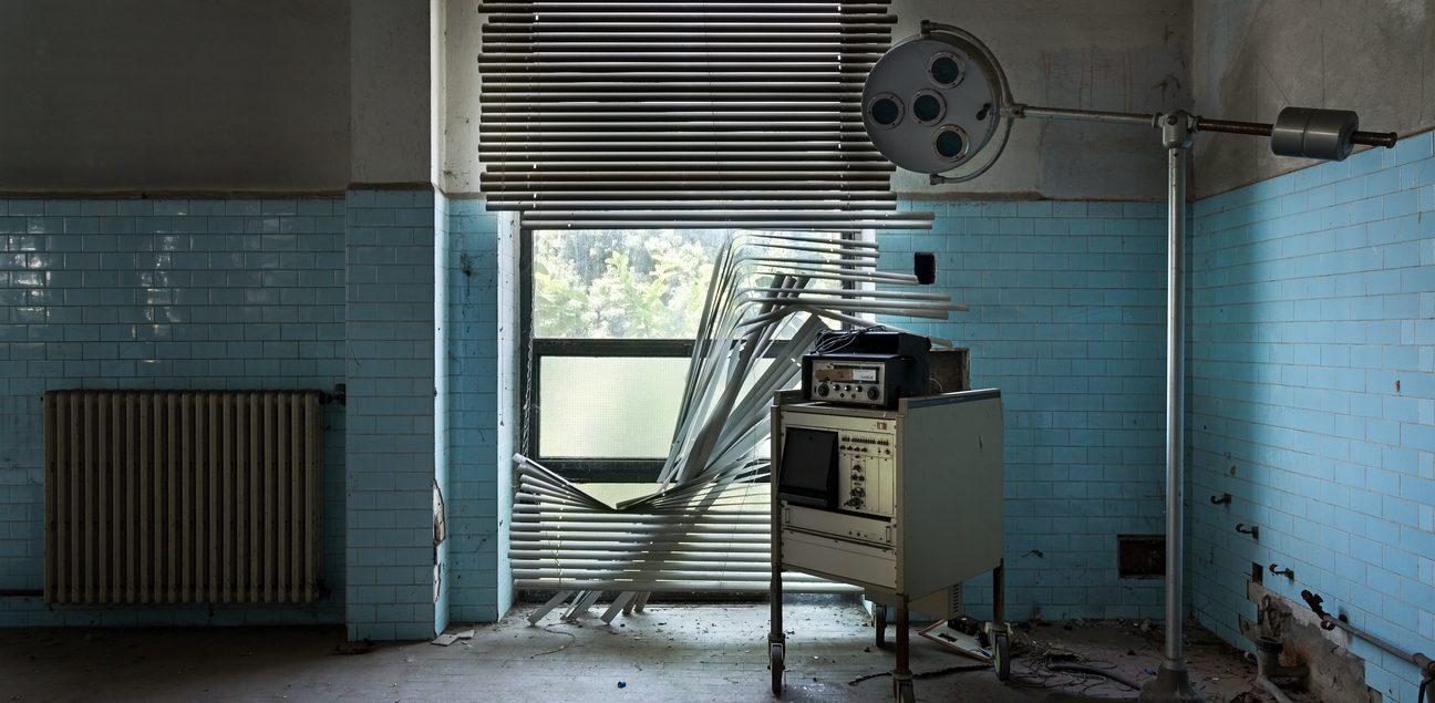 abandoned animal testing facility