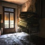 piled mattress urbex