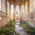 abandoned chapel france
