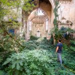 abandoned church portrait