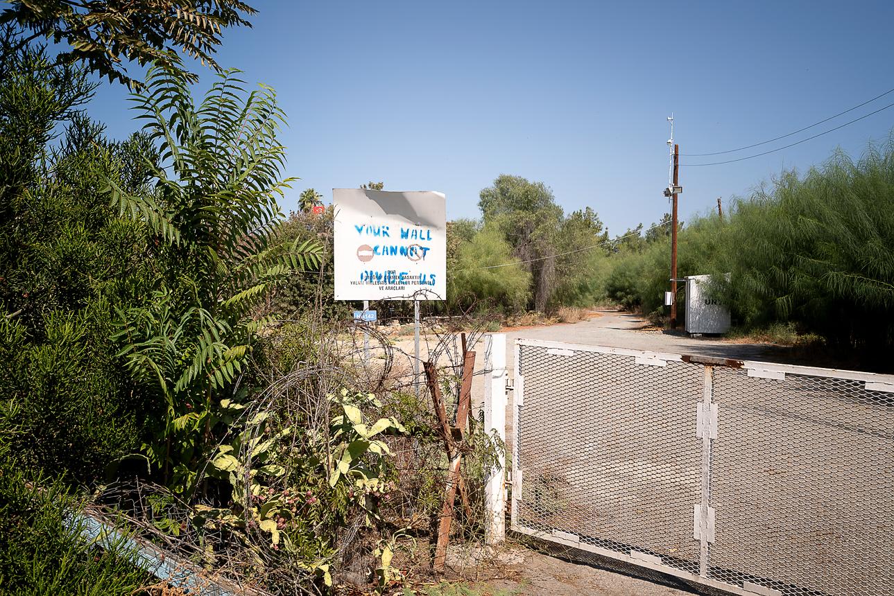 A Rare View Inside the Buffer Zone in Nicosia Cyprus - Urban