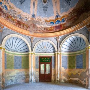 abandoned building baile herculane casino